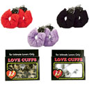 Furry Love Cuffs Hand Cuffs for Intimate Lovers